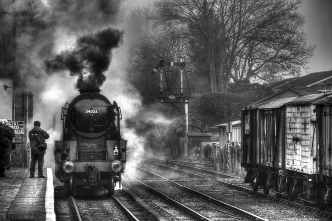 3rd Print Train Spotting by Keith Bagnall