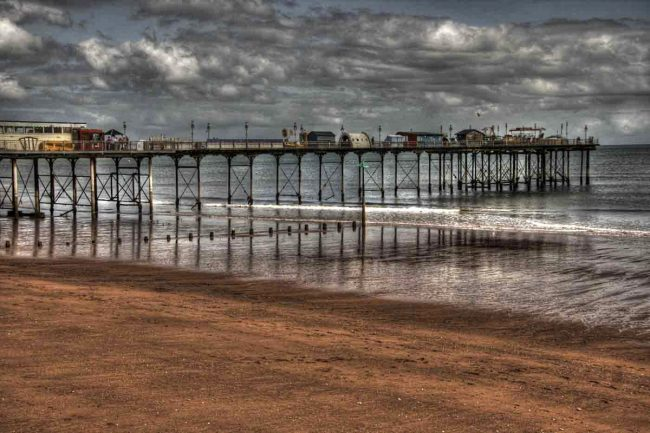 4th Print The Pier by Keith Bagnall