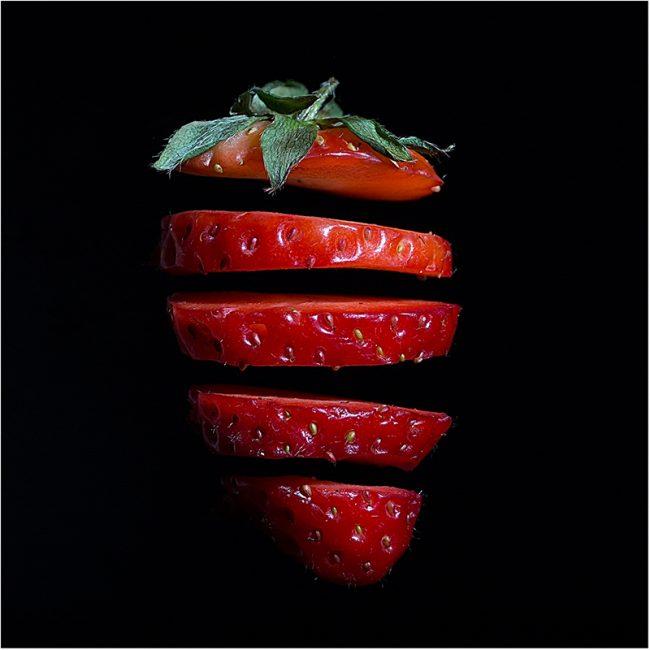 2nd digital Strawberry by Natasha Blue