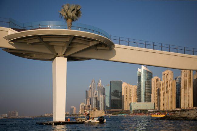 2nd Prints Sleek Bridge Dubai by John Shaw