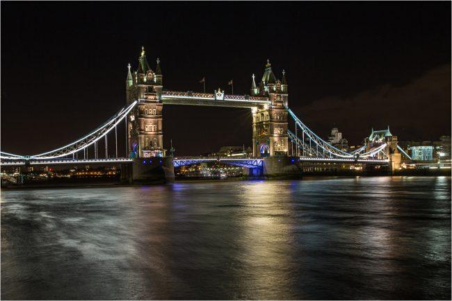 4th Digital Tower Bridge by Natalja Bluem