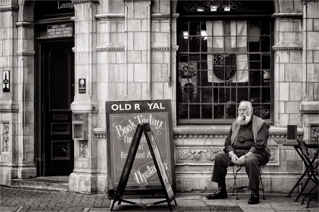 The Old Royal by Tim Pindar. Print 18 Points