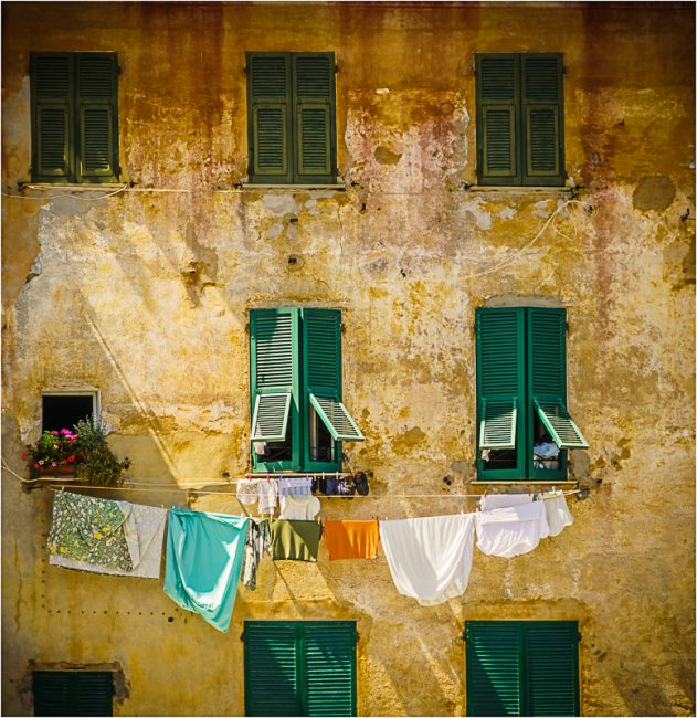 Washing Day in portofino by Derek Robbins. PDI 20 points.