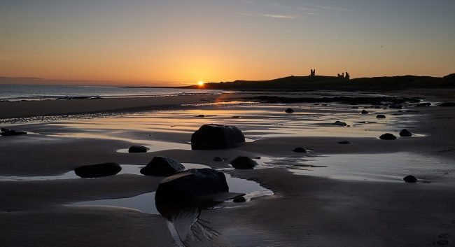 Dawn at Dunstanburgh