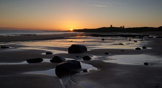 Dawn at Dunstanburgh